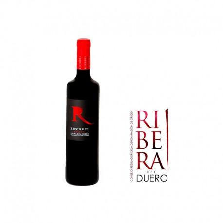 R. DEL DUERO ROBLE RIVENDEL 75CL.
